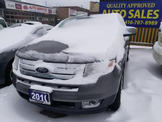 Used 2010 Ford Edge SEL, Panoramic roof, Dual DVD for sale in Scarborough, ON