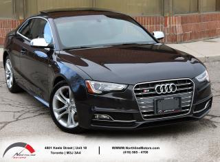 Used 2014 Audi S5 Technik  Navigation Blind Spot Sunroof for sale in North York, ON