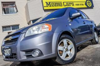 Used 2007 Chevrolet Aveo LT! Cruise+Sunroof+AuxIn+A/C! for sale in St Catharines, ON