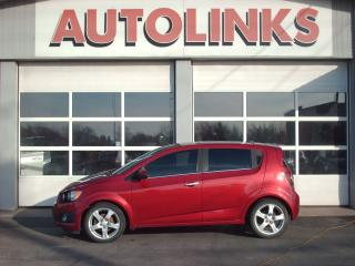 Used 2012 Chevrolet Sonic LTZ for sale in St Catharines, ON