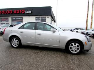 Used 2007 Cadillac CTS 3.6L SEDAN LEATHER AUTOMATIC ALLOYS for sale in Milton, ON