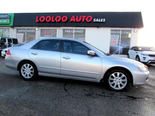 Used 2006 Honda Accord EX-L V-6 Navigation Leather Sunroof XM Redio for sale in Milton, ON