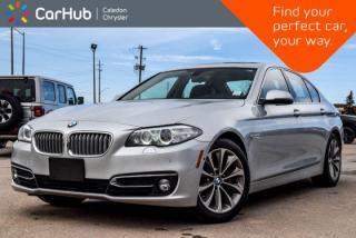 Used 2014 BMW 5 Series 528i xDrive|Navi|Sunroof|Backup Cam|Bluetooth|Leather|Push Start|18