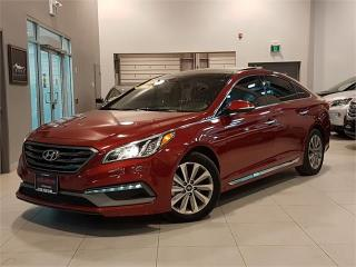 Used 2015 Hyundai Sonata SPORT TECH-NAVIGATION-PANO ROOF-ONLY 39KM for sale in York, ON