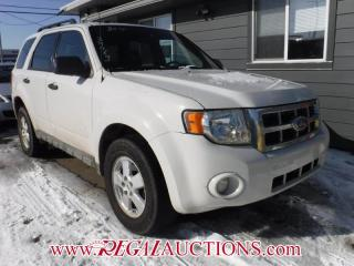 Used 2010 Ford ESCAPE  4D UTILITY AWD for sale in Calgary, AB
