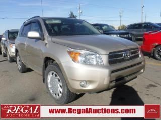 Used 2008 Toyota RAV4 Limited 4D Utility 4WD for sale in Calgary, AB