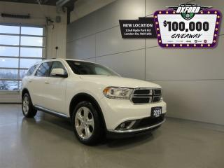 Used 2015 Dodge Durango Limited - V6, AWD, DVD, Sunroof, 7 pass for sale in London, ON