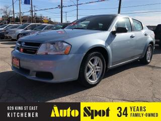 Used 2013 Dodge Avenger LOW, LOW KMS/NEW TIRES/PRICED-QUICK SALE for sale in Kitchener, ON