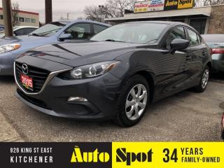Used 2015 Mazda MAZDA3 GX/LOW, LOW KMS/PRICED-QUICK SALE! for sale in Kitchener, ON