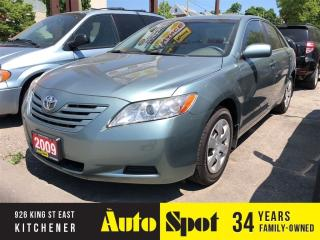 Used 2009 Toyota Camry LE/LOW, L;OW KMS/PRICED-QUICK SALE! for sale in Kitchener, ON