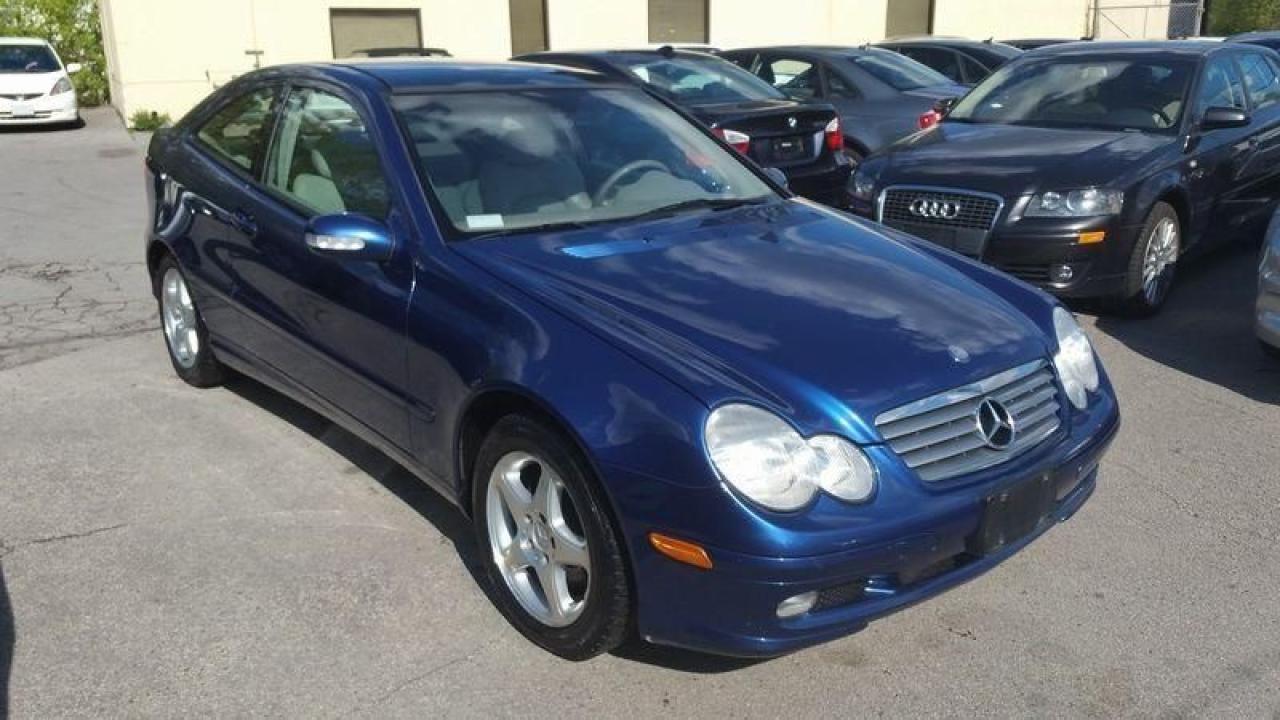 Photo of Blue 2003 Mercedes-Benz C320
