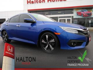 Used 2016 Honda Civic TOURING|SERVICE HISTORY ON FILE|ONE OWNER for sale in Burlington, ON