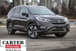 Used 2016 Honda CR-V Touring, no accidents, navi, backup cam for sale in Vancouver, BC