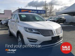 Used 2017 Lincoln MKC Auto Parking, Intuitive All Wheel Drive, Low Kms for sale in Vancouver, BC