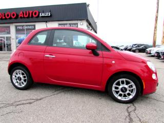Used 2012 Fiat 500 Coupe Sport Bluetooth Manual Certified 2YR Warranty for sale in Milton, ON
