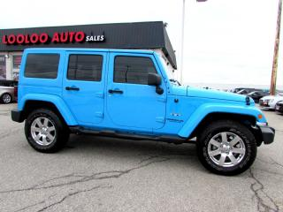 Used 2017 Jeep Wrangler Unlimited Sahara 4WD NAVIGATION CERTIFIED 2YR WARR for sale in Milton, ON