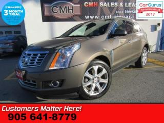 Used 2014 Cadillac SRX Performance  (NEW TIRES) AWD ADAP-CC LD BS PANO NAV CUE BOSE MEM for sale in St Catharines, ON