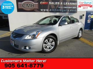 Used 2012 Nissan Altima 2.5 S  AUTO, ALLOYS, REMOTE, POWER GROUP for sale in St Catharines, ON