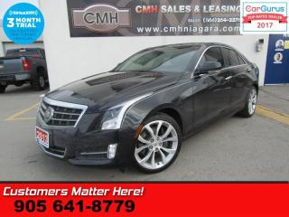 Used 2013 Cadillac ATS PERFORMANCE  AWD AWARENESS-PKG NAV CUE ROOF HUD BOSE CAM PARK-SENS 1 for sale in St Catharines, ON