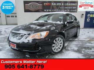 Used 2013 Chrysler 200 LX  PWR GROUP HEATED MIRRORS TILT/TELESCOPE-STEERING WHEE for sale in St Catharines, ON