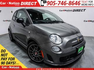 Used 2013 Fiat 500 Abarth  LEATHER  WE WANT YOUR TRADE  for sale in Burlington, ON