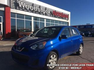 Used 2015 Nissan Micra SV  - Bluetooth - $84.66 B/W for sale in Woodstock, ON