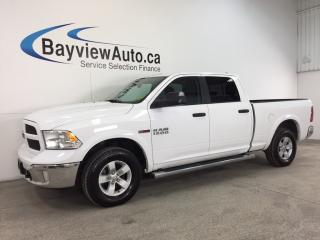 Used 2016 Dodge Ram 1500 OUTDOORSMAN- ECODIESEL|HITCH|TOW/HAUL|BLUETOOTH! for sale in Belleville, ON