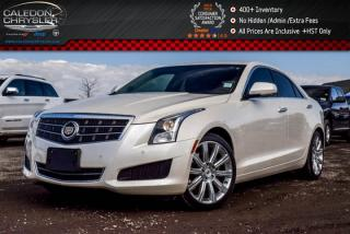 Used 2014 Cadillac ATS Luxury RWD|Backup Cam|Bluetooth|Leather|Heated Front Seats|Keyless Go|17