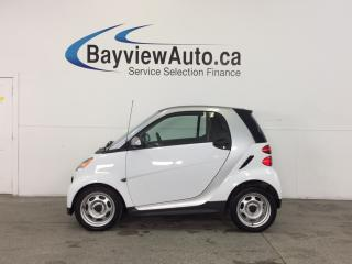 Used 2013 Smart fortwo - KEYLESS ENTRY|A/C|BLUETOOTH|BUDGET BUDDY! for sale in Belleville, ON