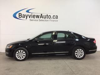 Used 2013 Volkswagen Passat TRENDLINE- TDI|ALLOYS|HTD STS|EMISSIONS FIX! for sale in Belleville, ON
