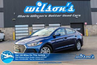 Used 2018 Hyundai Elantra LE HEATED SEATS! BLUETOOTH! POWER PACKAGE! for sale in Guelph, ON