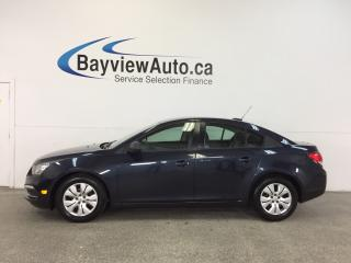 Used 2015 Chevrolet Cruze - AUTO|1.8L|A/C|ON STAR|19,250 KM! for sale in Belleville, ON
