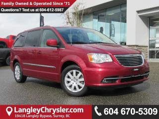 Used 2016 Chrysler Town & Country Touring <B>*2nd Row STOW 'N GO*6.5 Touchscreen*<b> for sale in Surrey, BC