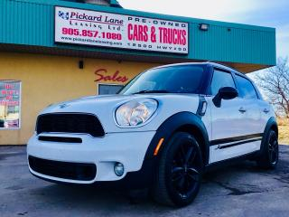 Used 2012 MINI Cooper Countryman S $134.56 BI WEEKLY $0 DOWN! CERTIFIED! JUST CAME IN!!! for sale in Bolton, ON
