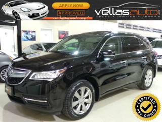 Used 2014 Acura MDX ELITE PKG| SH ALL-WHEEL-DRIVE for sale in Woodbridge, ON