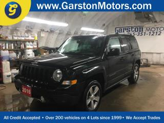 Used 2016 Jeep Patriot HIGH ALTITUDE*4WD*LEATHER*POWER SUNROOF*U CONNECT PHONE*POWER DRIVER SEAT*KEYLESS ENTRY*POWER WINDOWS/LOCKS/HEATED MIRRORS*CLIMATE CONTROL*HEATED FRON for sale in Cambridge, ON