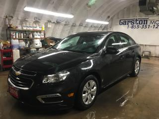 Used 2016 Chevrolet Cruze LT*PHONE CONNECT*BACK UP CAMERA*KEYLESS ENTRY*POWER WINDOWS/LOCKS/MIRRORS*CLIMATE CONTROL*TRACTION CONTROL* for sale in Cambridge, ON