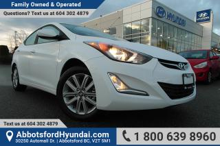Used 2015 Hyundai Elantra Sport Appearance LOW KILOMETRES & BC OWNED for sale in Abbotsford, BC