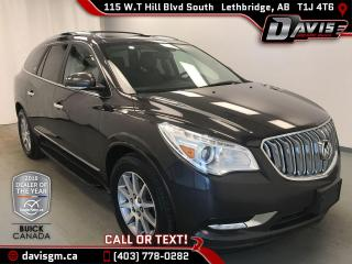 Used 2016 Buick Enclave Leather AWD, 7 PASSENGER, NAVIGATION for sale in Lethbridge, AB