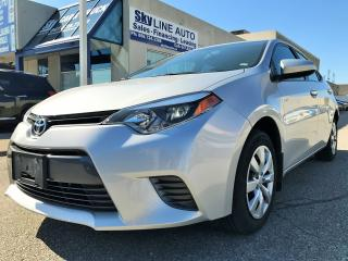 Used 2016 Toyota Corolla LE ACCIDENT FREE|LOW KMS|BACK CAM|HEATED SEATS|CERTIFIED for sale in Concord, ON