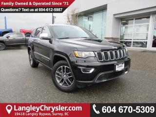 Used 2017 Jeep Grand Cherokee Limited <b>*5.0 TOUCHSCREEN*LEATHER*REMOTE START*<b> for sale in Surrey, BC