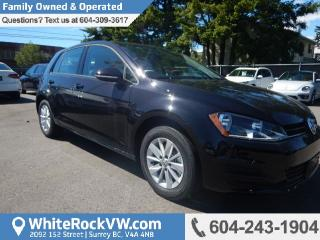 New 2017 Volkswagen Golf 1.8 TSI Trendline for sale in Surrey, BC