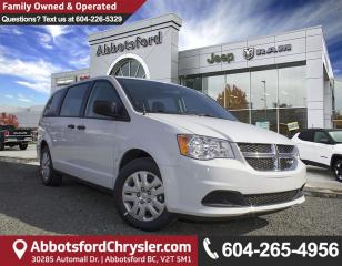 New 2018 Dodge Grand Caravan CVP/SXT for sale in Abbotsford, BC