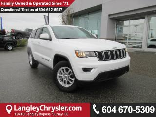 Used 2018 Jeep Grand Cherokee Laredo <B>*Apple CarPlay*Google Android Auto*7.0 TOUCHSCREEN*<b> for sale in Surrey, BC
