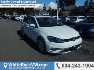 Used 2018 Volkswagen Golf Sportwagen 1.8 TSI Comfortline Rear View Camera, Heated Front Seats & Power Moonroof for sale in Surrey, BC