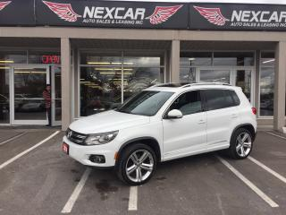 Used 2014 Volkswagen Tiguan 2.0TSI HIGHLINE AUT0 NAVI LEATHER PANO/ROOF for sale in North York, ON