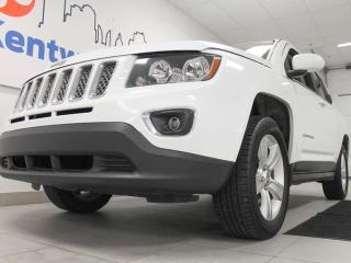 Used 2015 Jeep Compass High Altitude 4WD with a sunroof and heated power leather seats for sale in Edmonton, AB