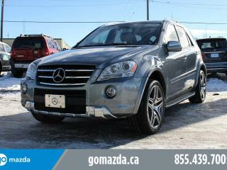 Used 2010 Mercedes-Benz ML-Class AMG 503HP NEW TIRES LEATHER ROOF NAV FANTASTIC CONDITION for sale in Edmonton, AB