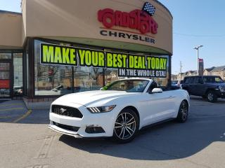 Used 2017 Ford Mustang EcoBoost Premium NAVI COOLED SEATS DROP TOP SYNC for sale in Scarborough, ON