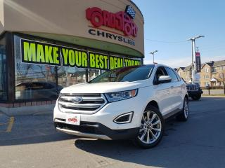 Used 2017 Ford Edge Titanium PANO ROOF 4WD TAN INTERIOR NAVI for sale in Scarborough, ON